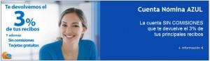 cuenta nomina azul de ibanesto