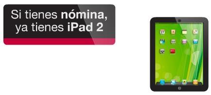 Creditos-Hipotecas: Cuenta Nómina Popular regala iPad2
