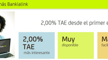 cuenta por mas bankialink