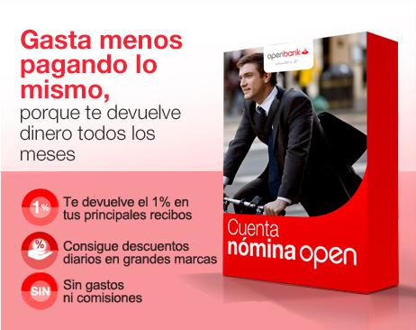 cuenta nomina openbank
