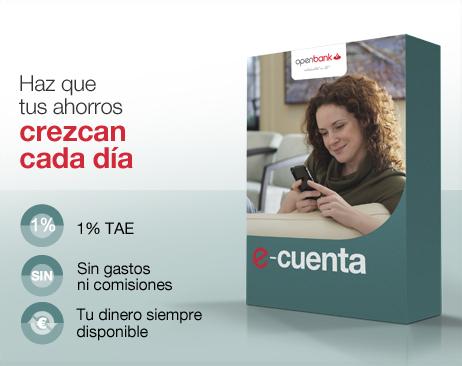 e-cuenta de openbank